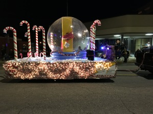 Christmas Parade in Columbia Illinois, USA...